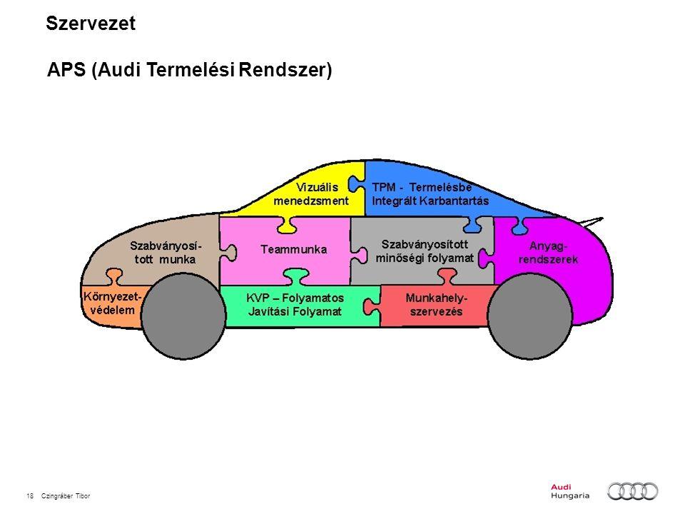 Szervezet APS (Audi Termelési Rendszer)