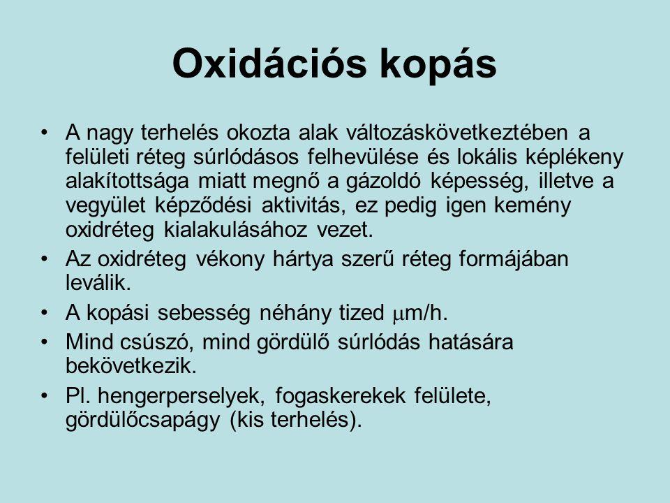 Oxidációs kopás