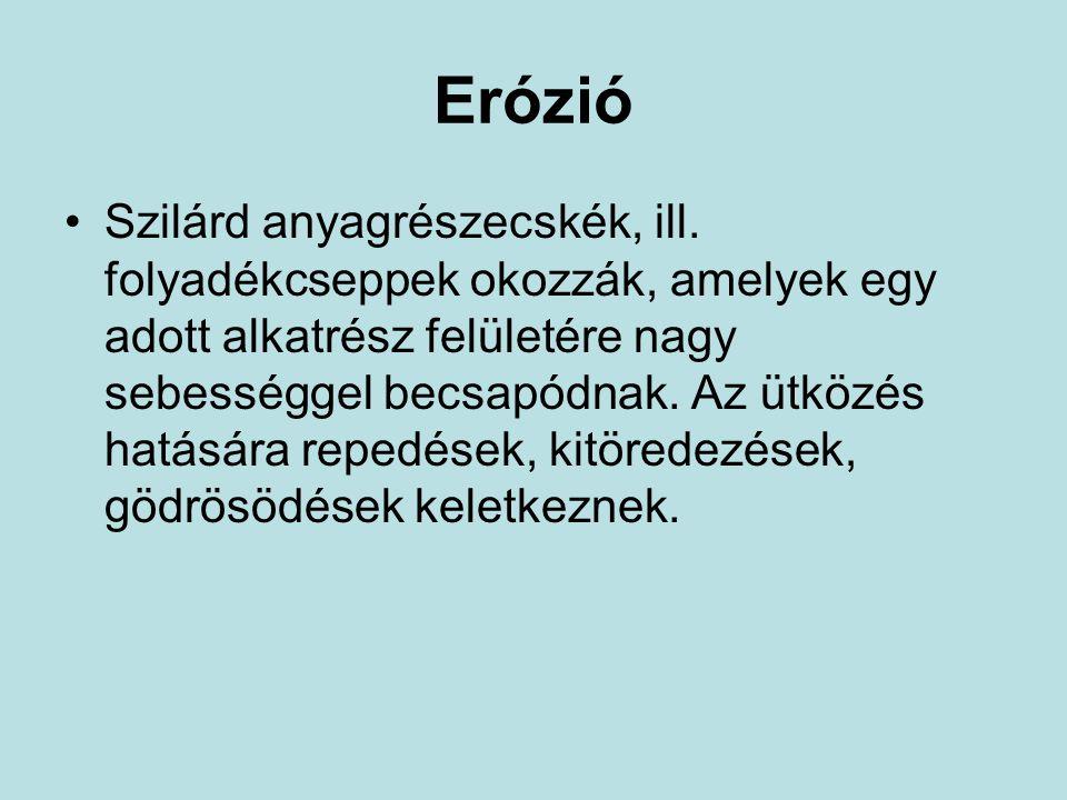 Erózió