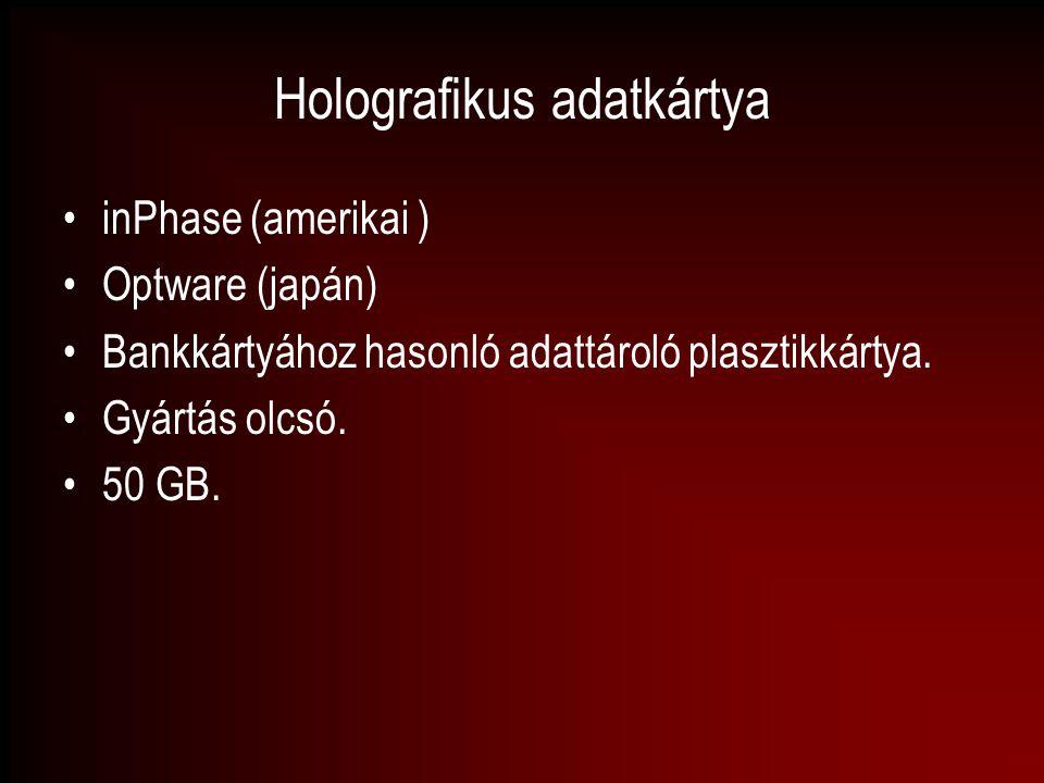 Holografikus adatkártya