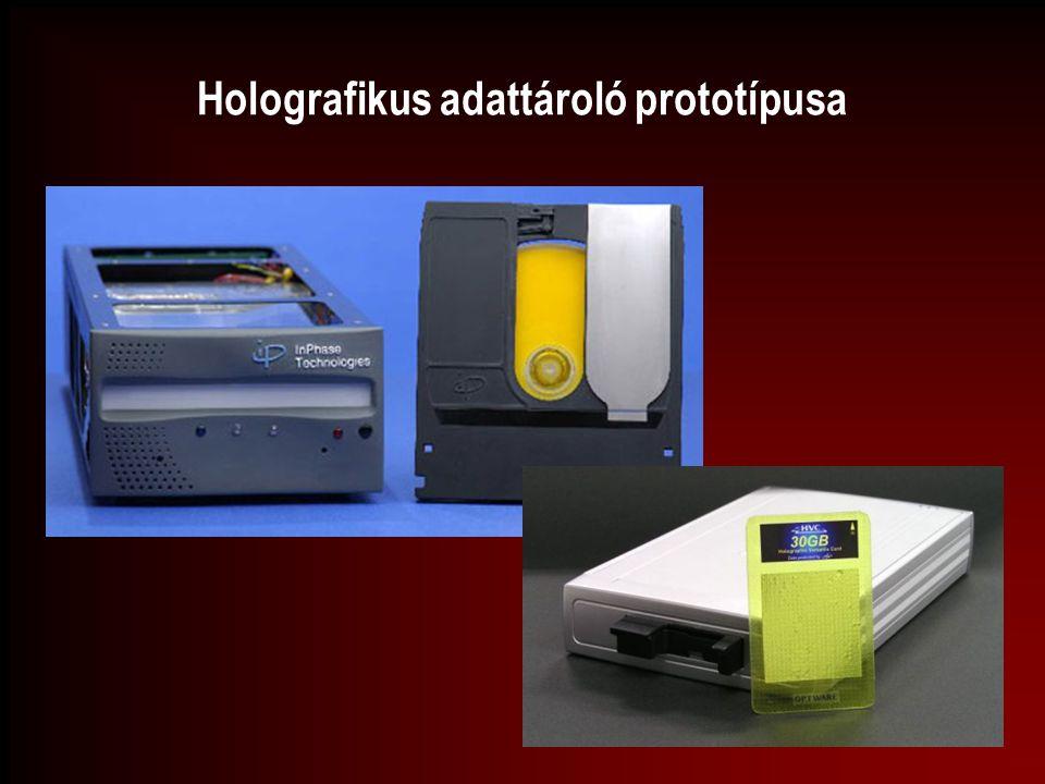 Holografikus adattároló prototípusa