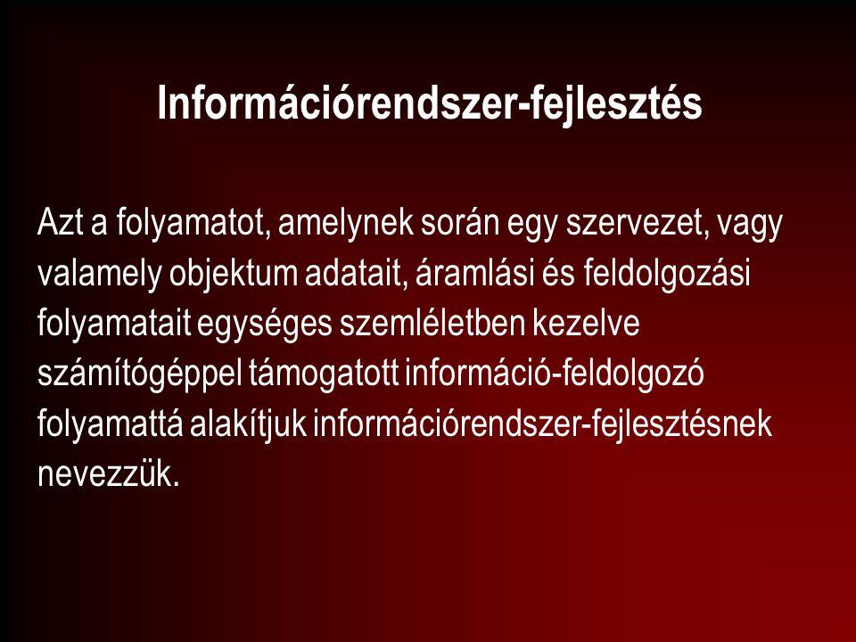 Információrendszer-fejlesztés
