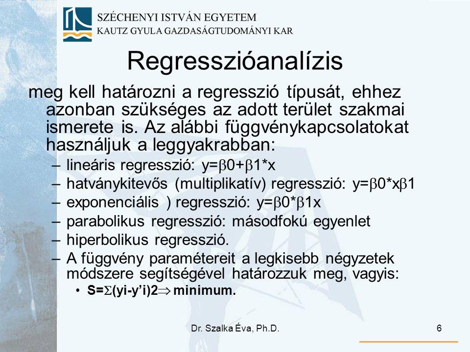 Regresszióanalízis