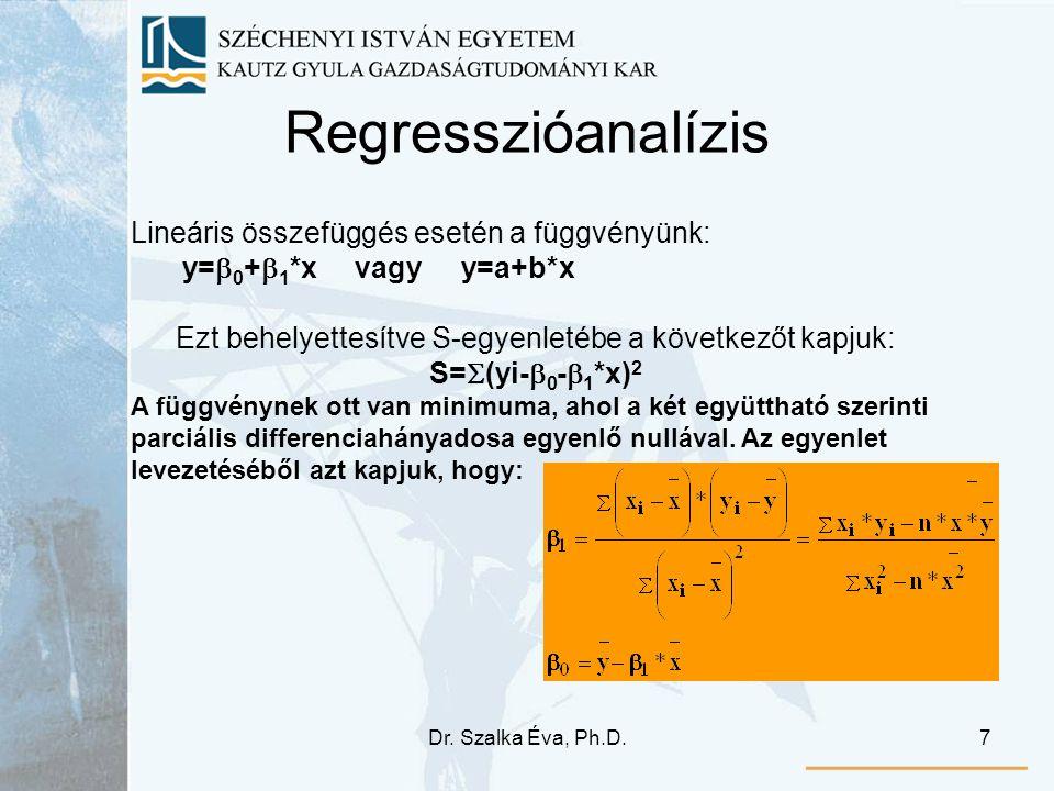 Ezt behelyettesítve S-egyenletébe a következőt kapjuk: