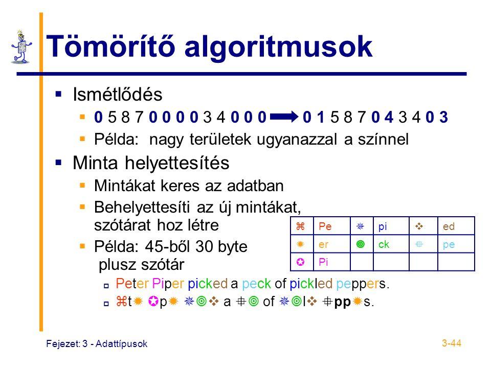 Tömörítő algoritmusok