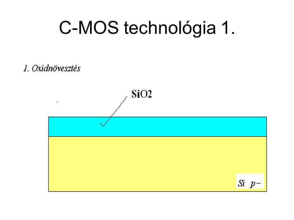 C-MOS technológia 1. CMOS áramkörök