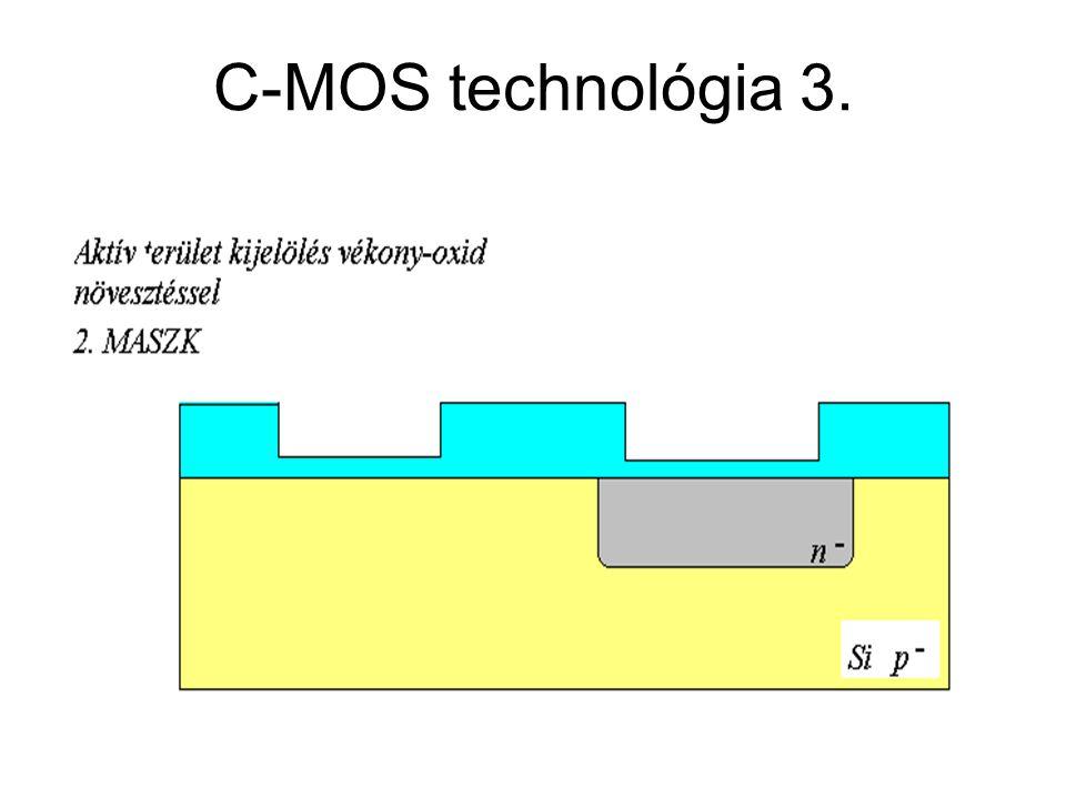 C-MOS technológia 3. CMOS áramkörök