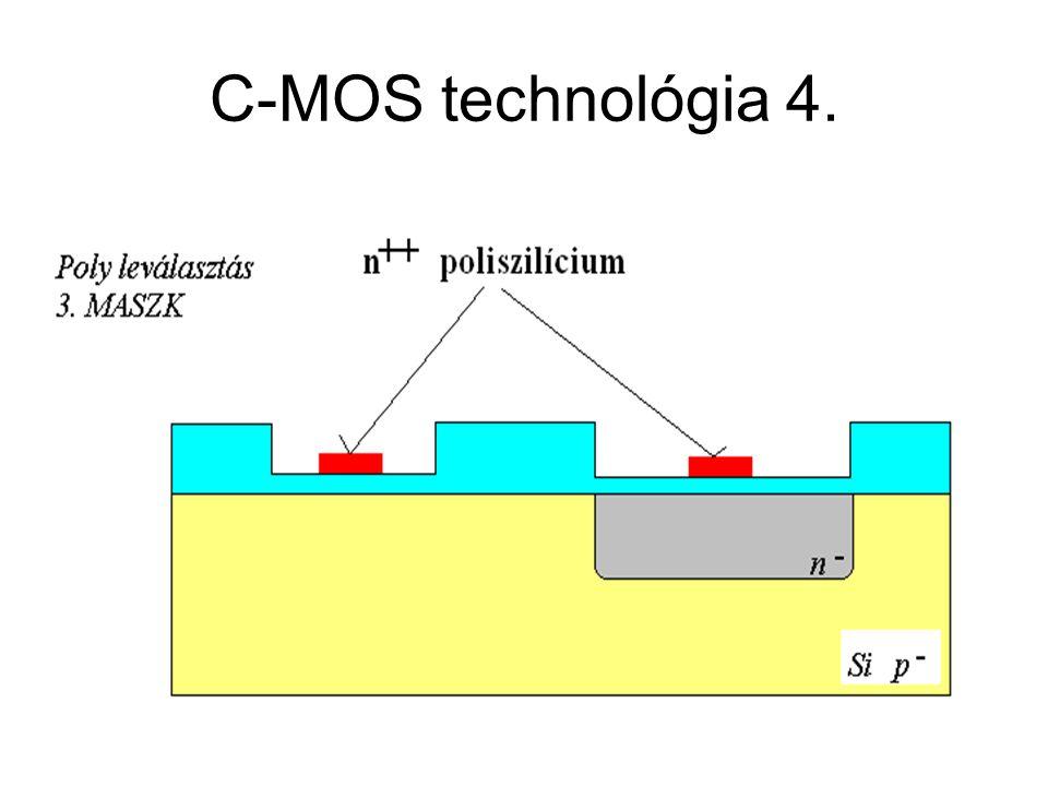 C-MOS technológia 4. CMOS áramkörök