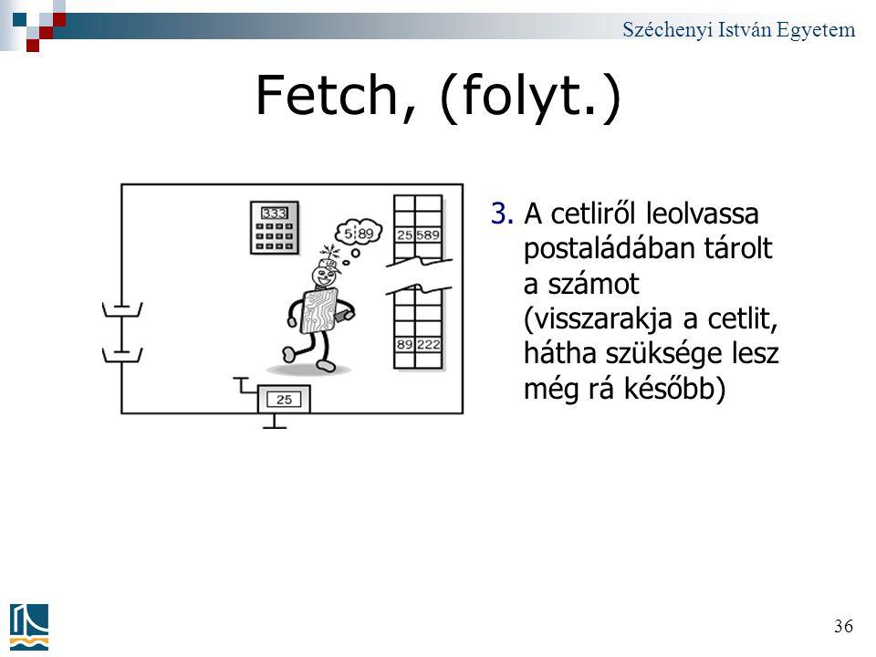 Fetch, (folyt.) 3.