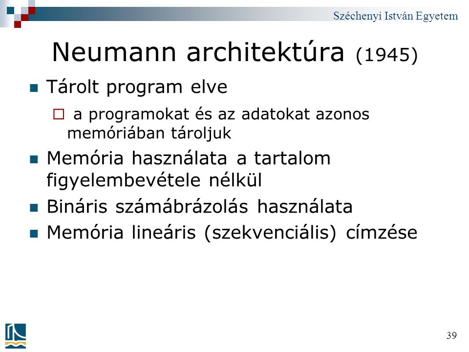 Neumann architektúra (1945)