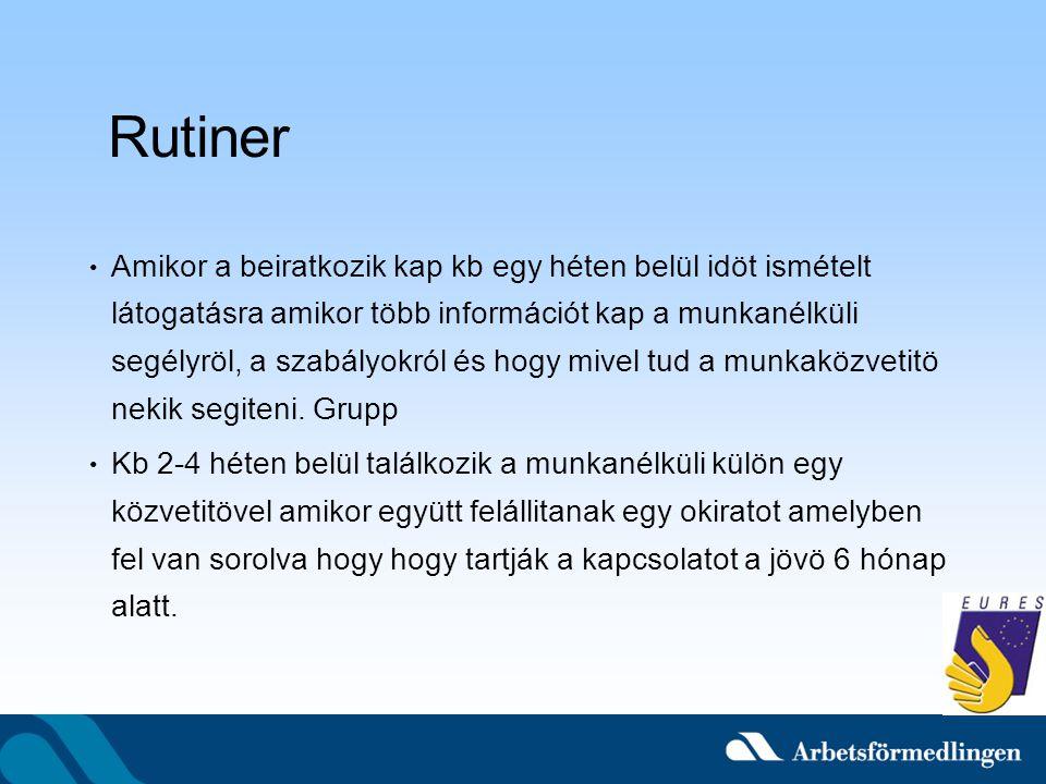 Rutiner