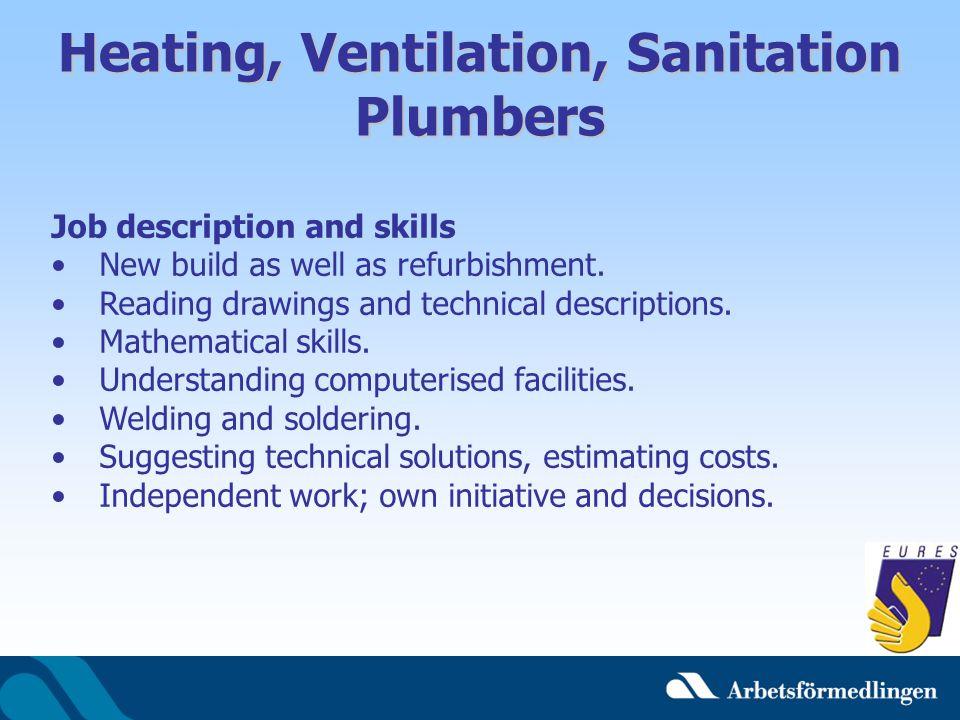 Heating, Ventilation, Sanitation Plumbers