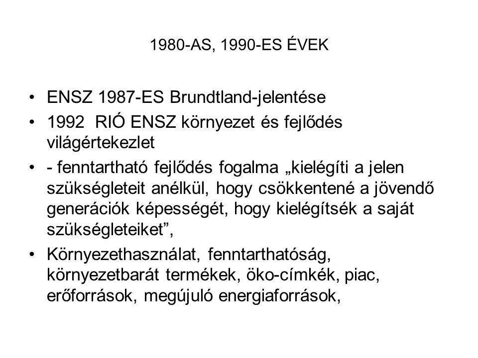 ENSZ 1987-ES Brundtland-jelentése