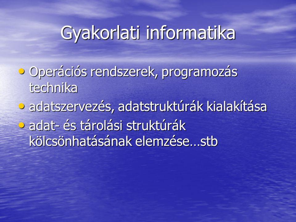 Gyakorlati informatika