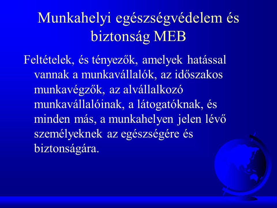 Munkahelyi egészségvédelem és biztonság MEB