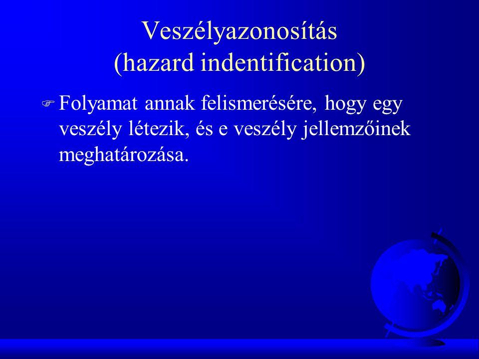 Veszélyazonosítás (hazard indentification)