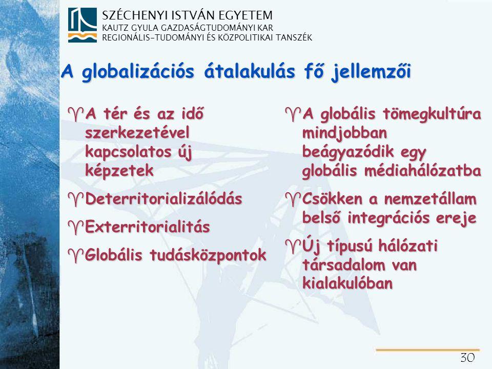 Kulturális globalizáció-a globális kultúra hatása a nemzeti kultúrákra
