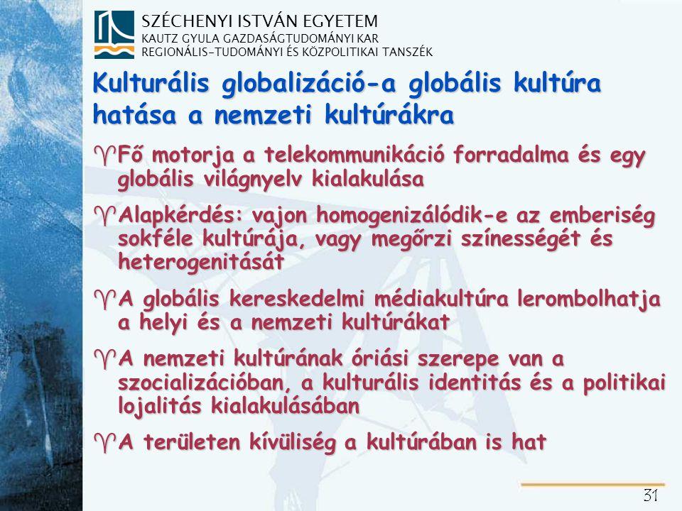 Viták a kulturális globalizációról