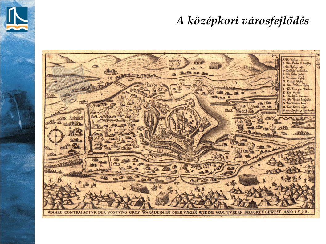 A középkori városfejlődés