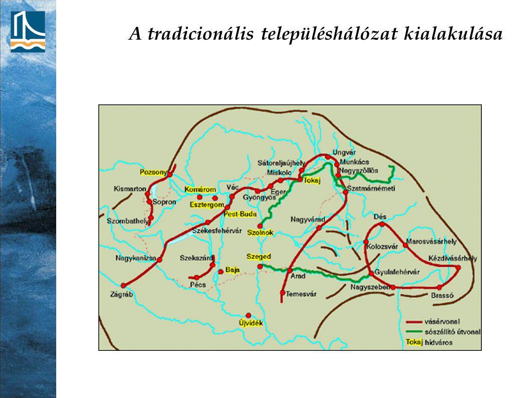 A tradicionális településhálózat kialakulása