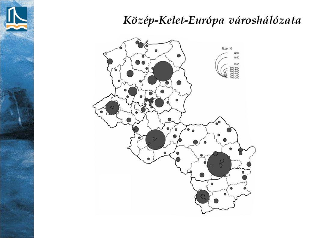 Közép-Kelet-Európa városhálózata