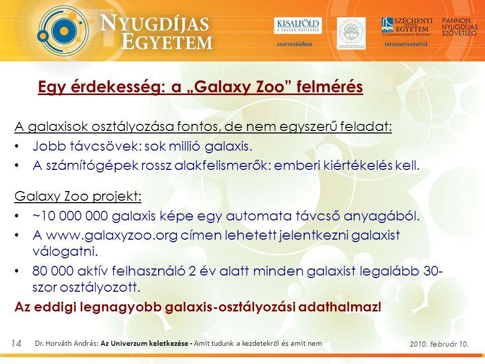 """Egy érdekesség: a """"Galaxy Zoo felmérés"""