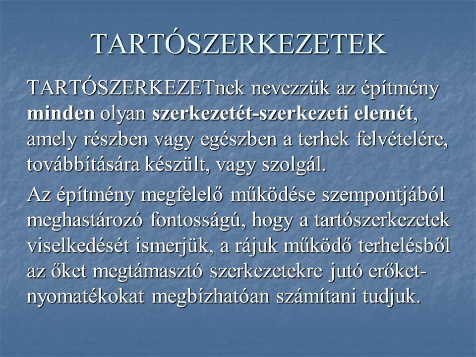 TARTÓSZERKEZETEK