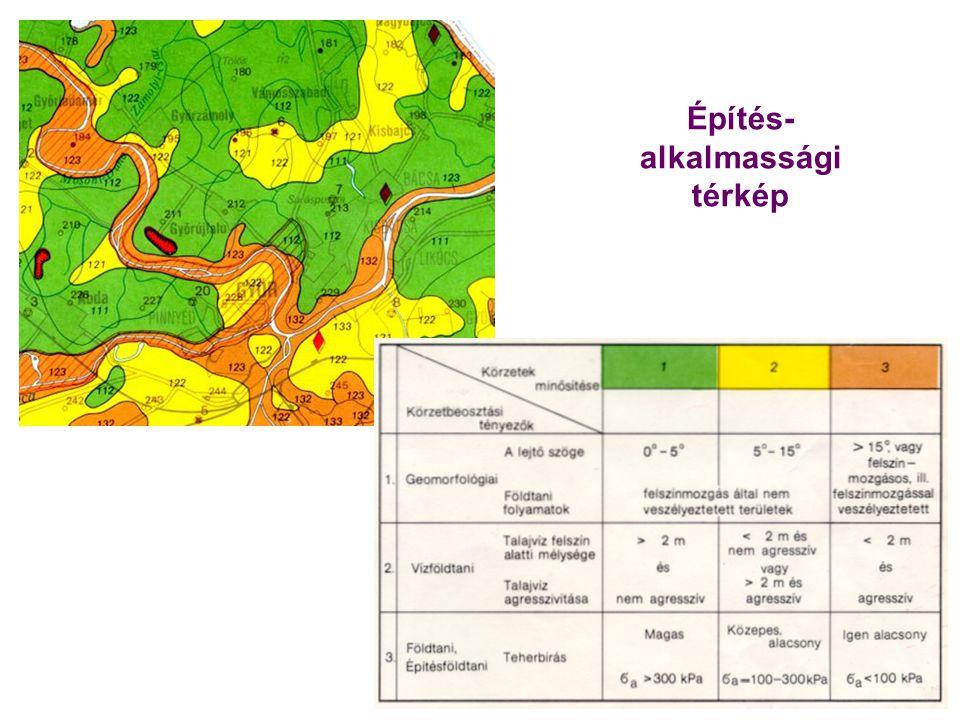 Építés-alkalmassági térkép