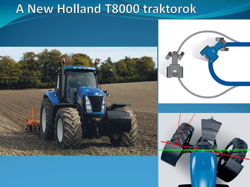 A New Holland T8000 traktorok