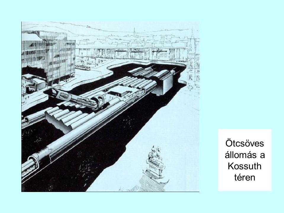 Ötcsöves állomás a Kossuth téren