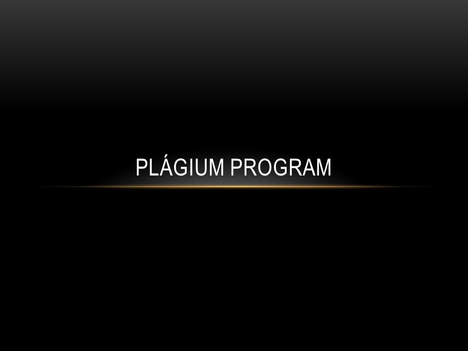 Plágium program