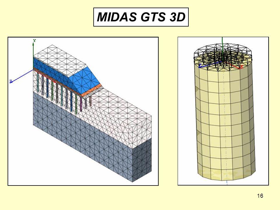 MIDAS GTS 3D