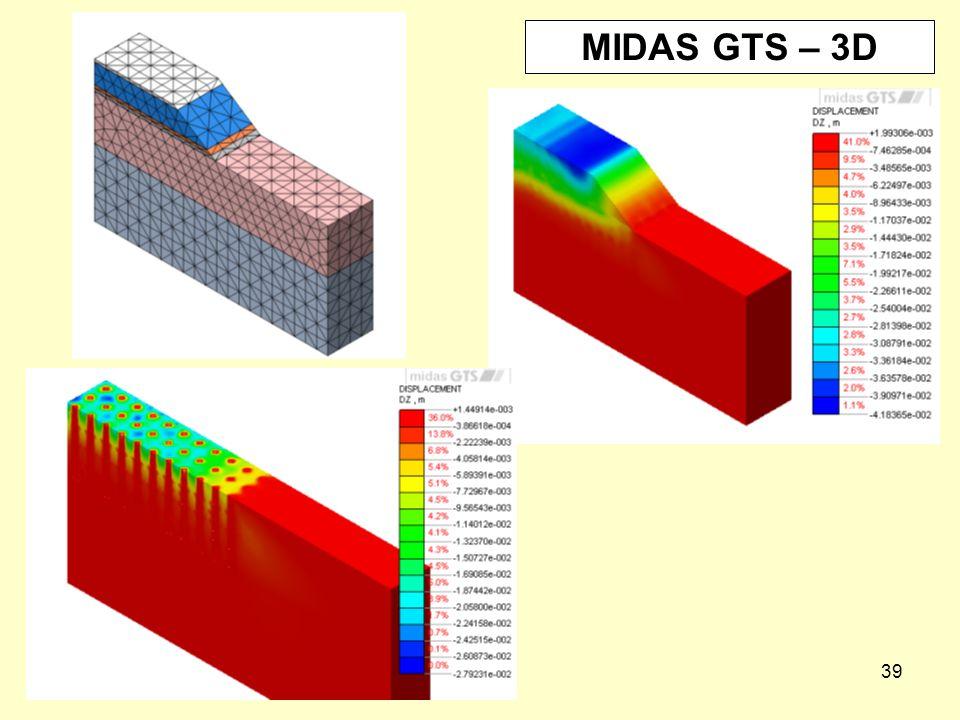 MIDAS GTS – 3D
