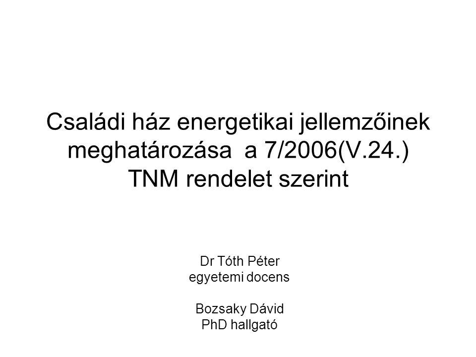 Dr Tóth Péter egyetemi docens Bozsaky Dávid PhD hallgató