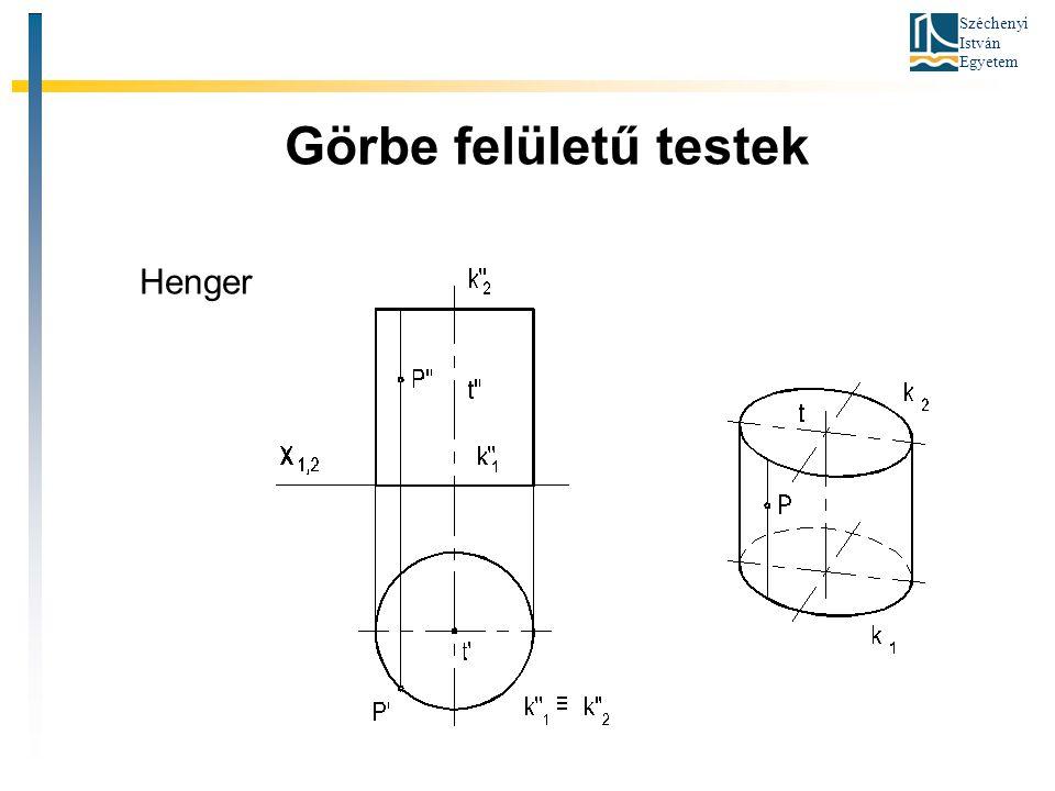 Görbe felületű testek Henger