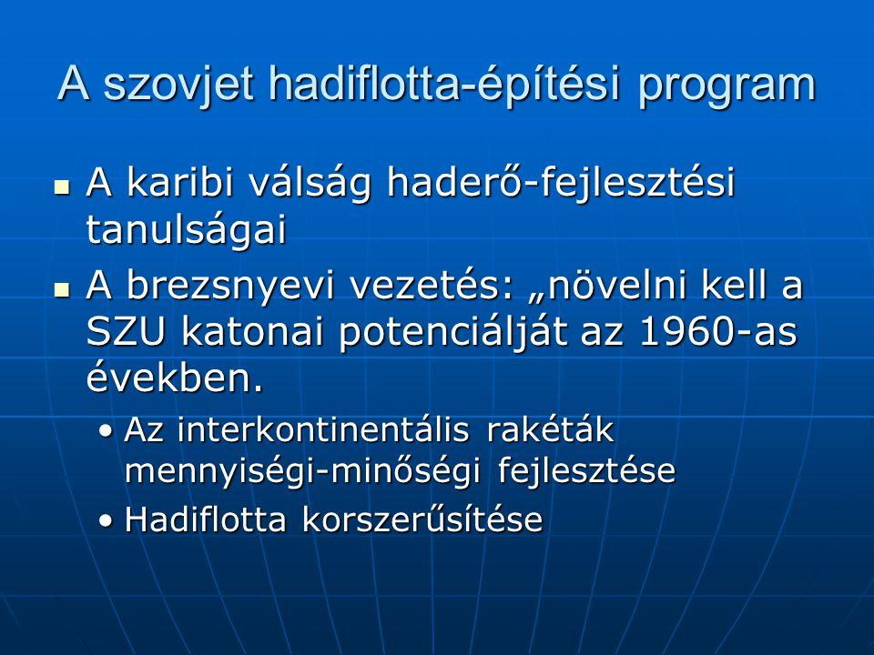 A szovjet hadiflotta-építési program