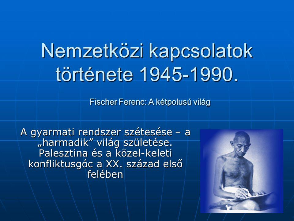 Nemzetközi kapcsolatok története 1945-1990