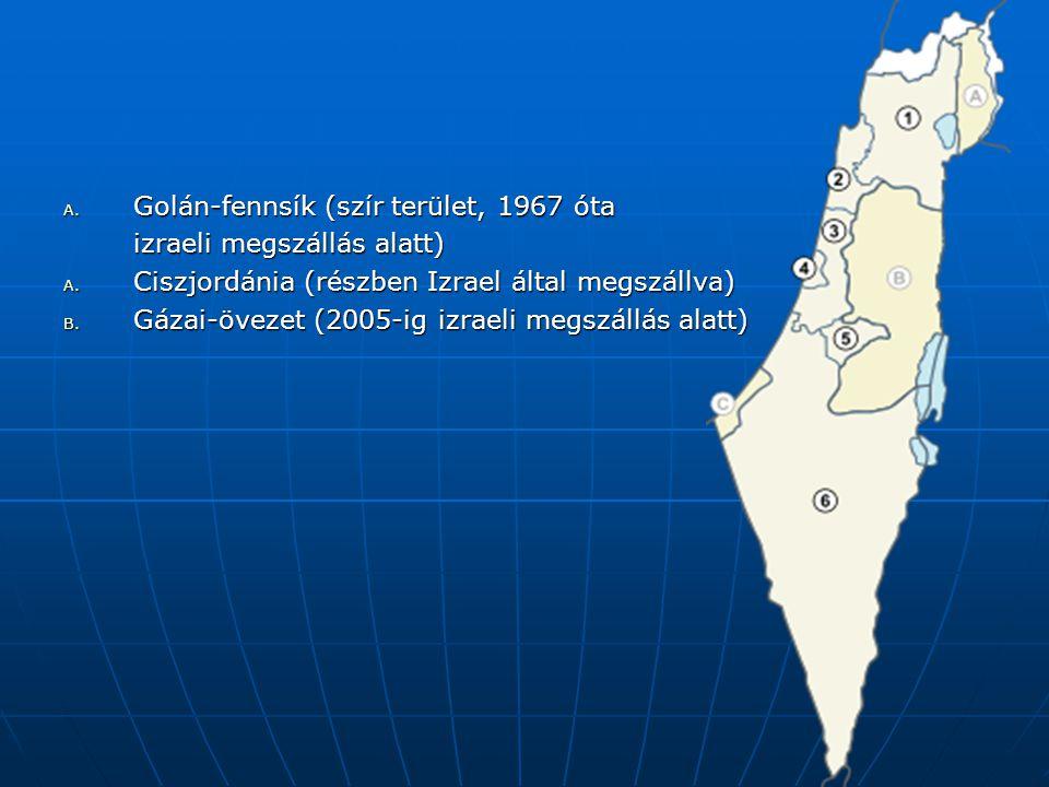 Golán-fennsík (szír terület, 1967 óta