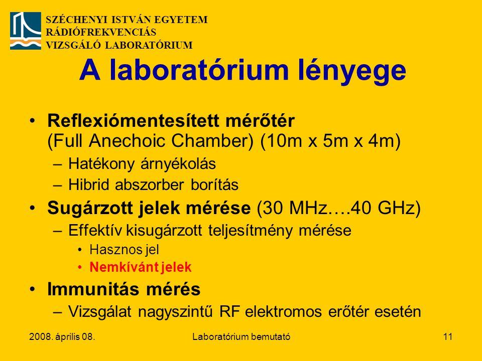 A laboratórium lényege