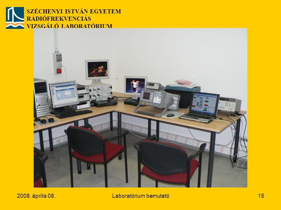 Laboratórium bemutató