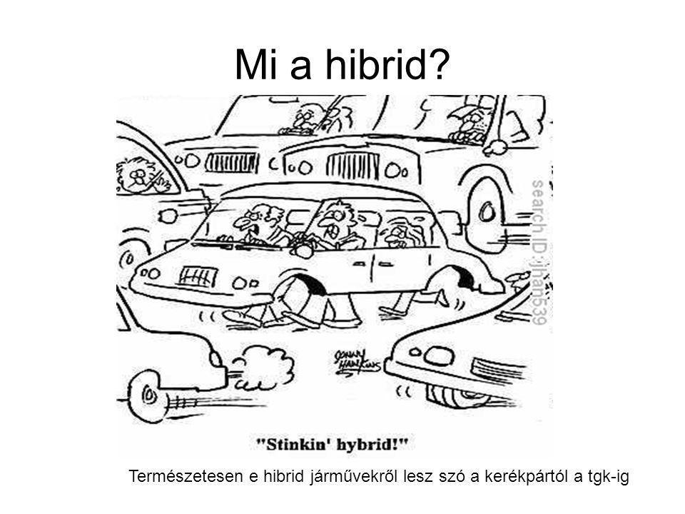 Mi a hibrid Természetesen e hibrid járművekről lesz szó a kerékpártól a tgk-ig