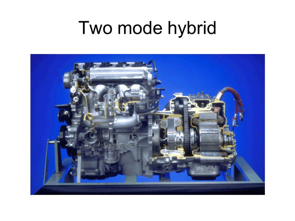 Two mode hybrid