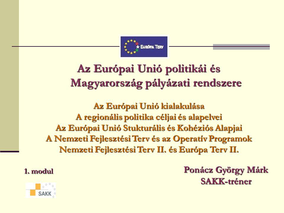 Az Európai Unió politikái és Magyarország pályázati rendszere