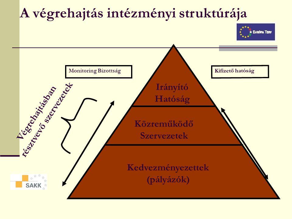 A végrehajtás intézményi struktúrája