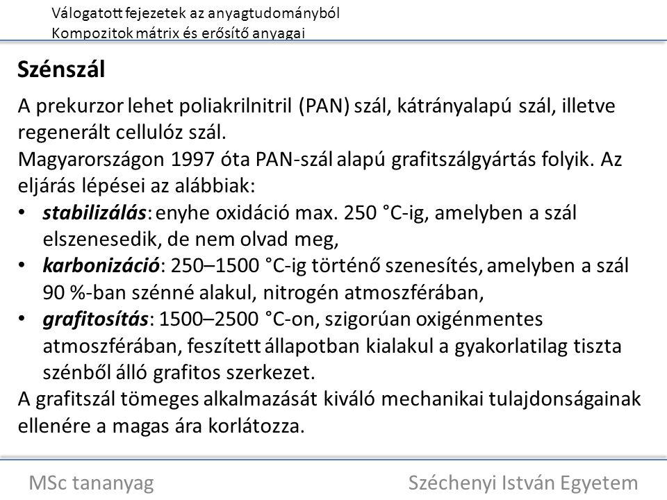 MSc tananyag Széchenyi István Egyetem