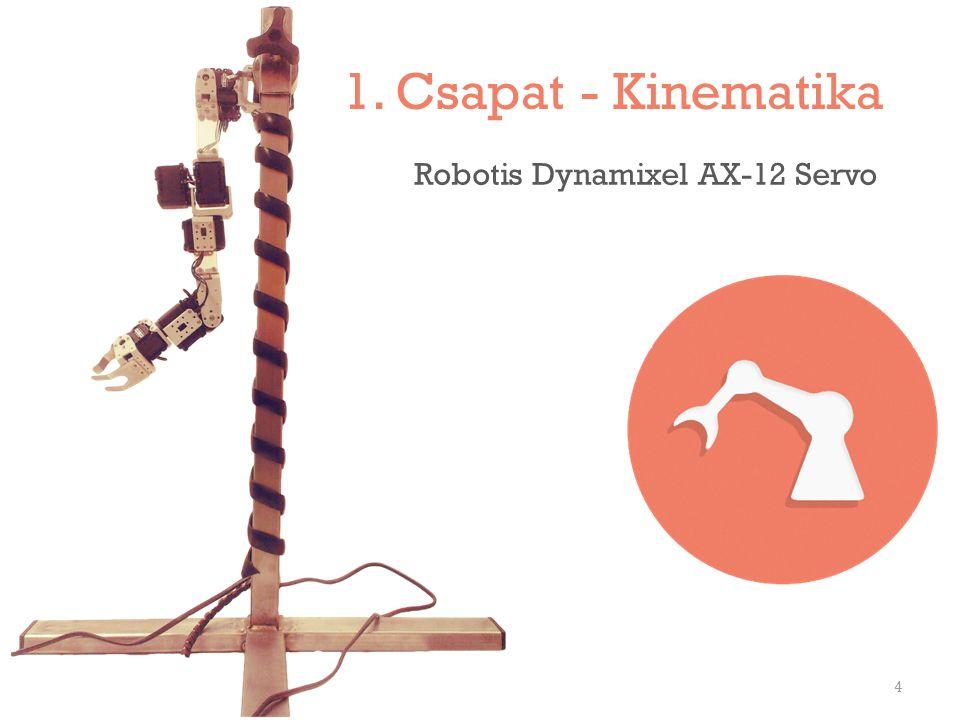 1. Csapat - Kinematika Robotis Dynamixel AX-12 Servo