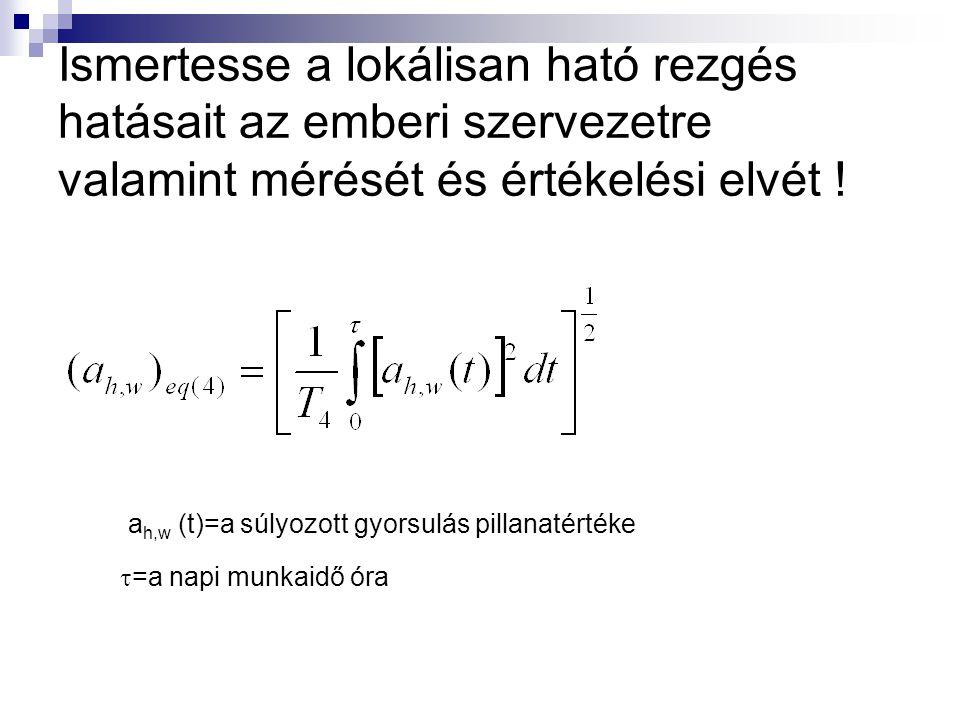 ah,w (t)=a súlyozott gyorsulás pillanatértéke