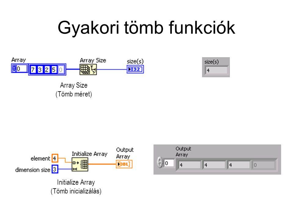 Initialize Array (Tömb inicializálás)