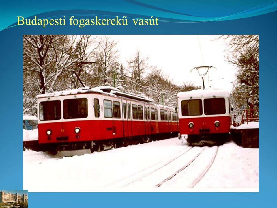 Budapesti fogaskerekű vasút