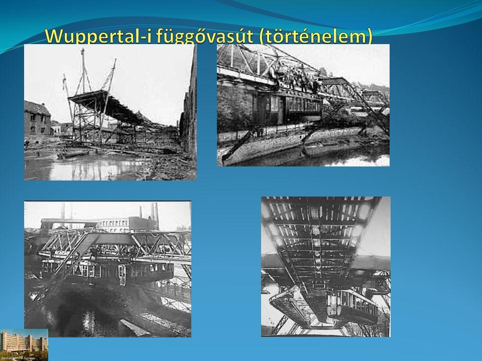 Wuppertal-i függővasút (történelem)